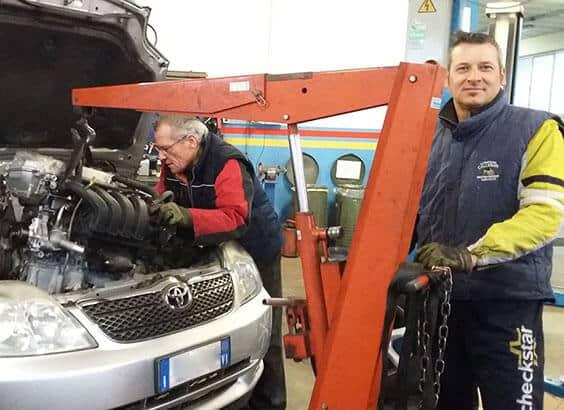 Autofficina Callegari meccanico auto a Lusiana